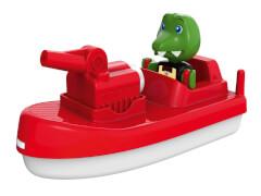 AquaPlay FireBoat, Kunststoff, ca. 15x8x5 cm, ab 3 Jahre