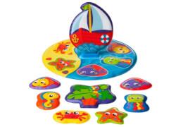 RothoPlaygro Badepuzzle, mehrfarbig