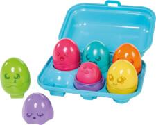 Versteck- und Quieck Eier - farbenfrohe Küken