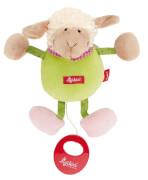 Sigikid 49310 Mini-Spieluhr Schaf grün.