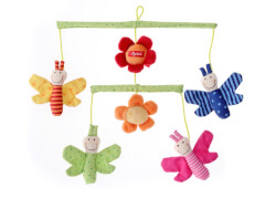 Sigikid 49421 Mobile Schmetterlinge
