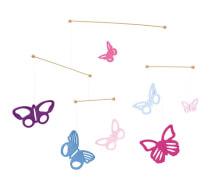Bunte Schmetterlinge, Mobile, 48 cm