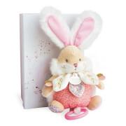 Doudou - Musikspieldose Hase,rosa 20cm