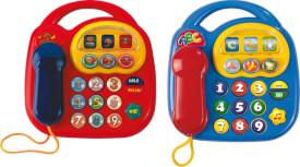 Simba ABC Telefon, 2-sortiert.
