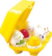 TOMY E1581 Versteck- und Quiek Eier