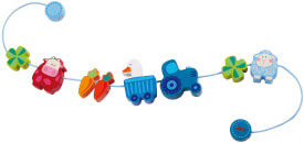 HABA Kinderwagenkette Muh & Mäh