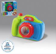 TP-Kamera mit Rassel