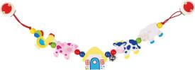 GoKi Kinderwagenkette Bauernhoftiere