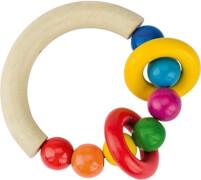 GoKi Greifling halbrund mit Perlen und 2 Ring