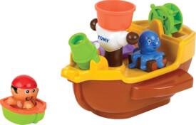 TOMY E71602 Aqua Fun - Piratenschiff