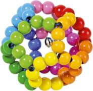 GoKi Greifling Elastik Regenbogenball