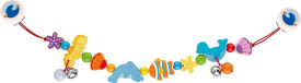 GoKi Kinderwagenkette Meerestiere