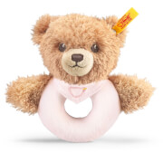 Steiff Schlaf Gut Bär Greifring, rosa, 12 cm