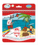 Stamp & Color Piraten