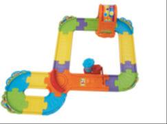 Vtech 80-160904 Tut Tut Baby Züge - Schienen-Set, ab 12 Monate - 5 Jahre, Kunststoff