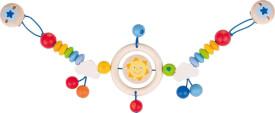 GoKi Kinderwagenkette Sonne mit Clips