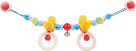 GoKi Kinderwagenkette Ente mit Clips