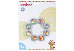 Beeboo Baby Kühlbeißring, 12,5 x 12,5 x 2 cm