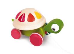 Zigolo Pull Along Schildkröte FSC