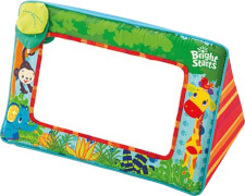Bright Starts Having a Ball -  Sit & See Safari Floor Mirror