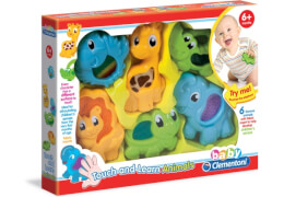Clementoni Baby Fühl- und Lerntiere