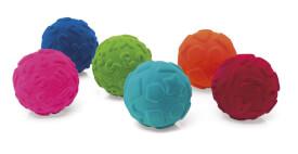 Rubbabu Pädagogik Ball,  10cm,  6-fach sortiert