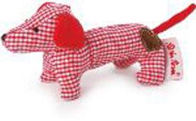 Käthe Kruse, Mini Greifling Dackel, rot