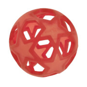 Hevea Star Ball - Raspberry Red