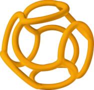 Ravensburger 45525 ministeps® baliba Babys Lieblingsball, orange