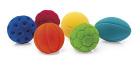 Rubbabu Sport Ball,  10cm,  6-fach sortiert