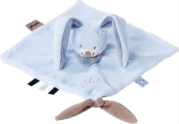 Nattou Alex & Bibou-Kuscheltuch Bibou das Kaninchen