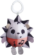 Tiny Love Rattle Marie Hedgehog  Musical Toy  Black & White Magicak Tales