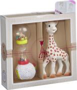 Sophie la girafe© Geschenkset: Beißring und Rassel