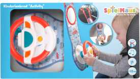 SpielMaus Baby Kinderlenkrad ''Activity''