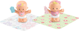 Mattel GKP67 Fisher-Price Little People Babys Figuren, sortiert