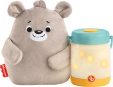 Mattel GRR00 Fisher-Price Bärchenbaby mit Glühwürmchen-Nachtlicht
