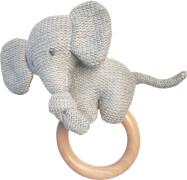 Beißring Elefant Stick mit Holz