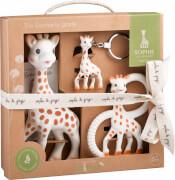 Sophie la girafe® So'Pure - Set Trio (inkl. Sophie, Beißring So'Pure, Schlüsselanhänger)