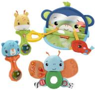 Mattel HFJ92 Fisher-Price Sinne Entdecken Babyspielzeug, Geschenkset ab 3 M.