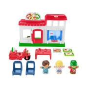 Mattel HBR79 Fisher-Price Little People Pizza-Lieferservice Spielset