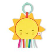 B. TOYS Knister-Sonne, sensorisches Baby-Spielzeug