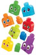 Mattel FLT38 Mega Boks Kunterbunte Gesichterwelt