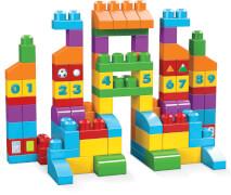 Mattel FVJ49 Mega Bloks Bausteintasche bunt (150 Teile)