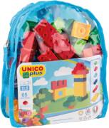 Unico - Bausteine im Rucksack, 65 Teile