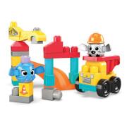 Mattel GRV37 Mega Bloks Guck-Guck Baustelle (30 Teile)