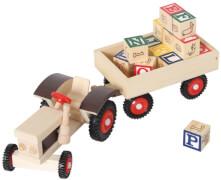 Traktor mit ABC-Anhänger