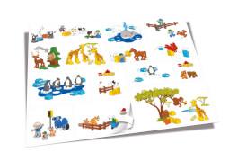 LEGO® DUPLO® Give Away Wandsticker