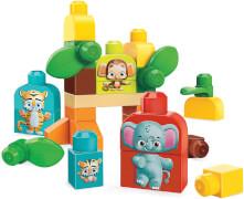 Mattel GPT75 Mega Bloks Safari Freunde