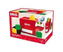 BRIO 63014800 Rote Sortier-Box