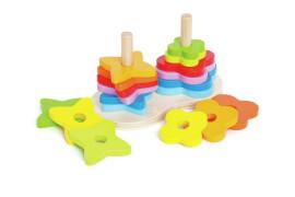 Hape Regenbogen Steckspiel
